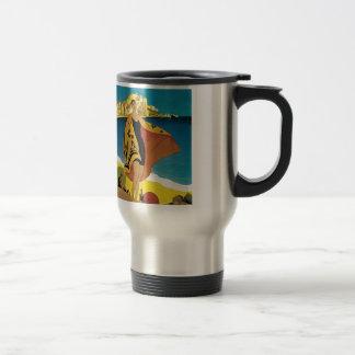 Vintage French Travel Travel Mug