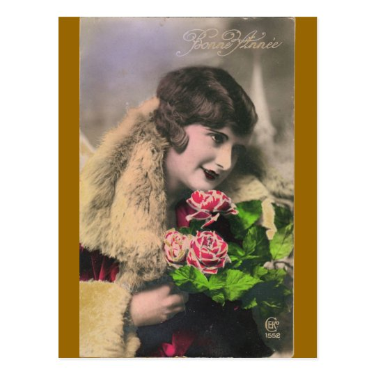 Vintage French Women Post Card