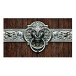 Vintage fresco Doorknocker #1A Personalizable Plantilla De Tarjeta De Visita