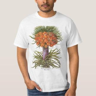 Vintage Fritillaria Flowers by Basilius Besler T-Shirt