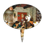Vintage Frnace, Auvergne, comida de la familia Decoraciones De Tartas