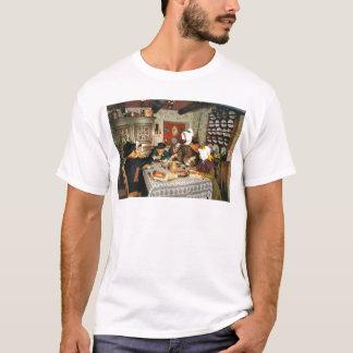 Vintage Frnace, Auvergne, family meal T-Shirt
