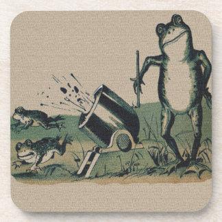 Vintage Frog Coaster