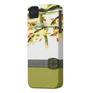 Vintage Frog iPhone 4 Case-Mate Case