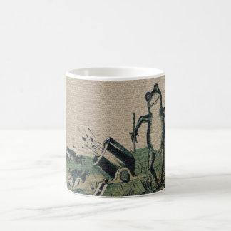 Vintage Frog Classic White Coffee Mug