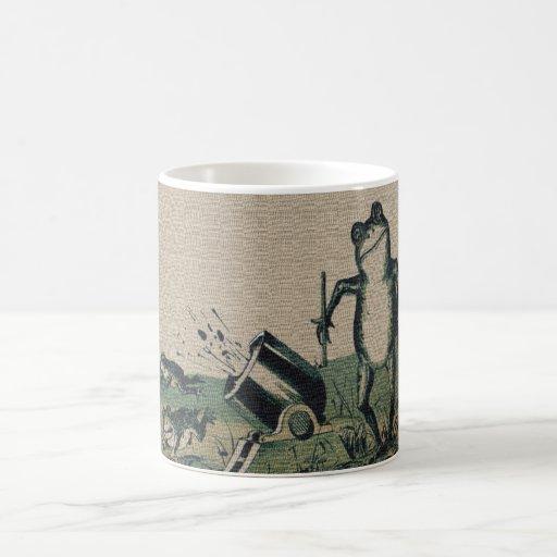 Vintage Frog Mugs