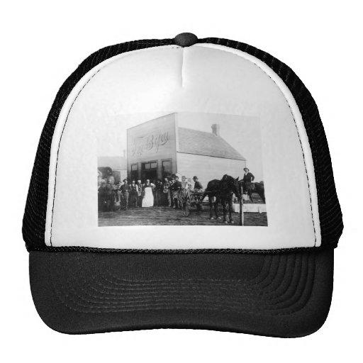 Vintage Frontier Town 3 Trucker Hat