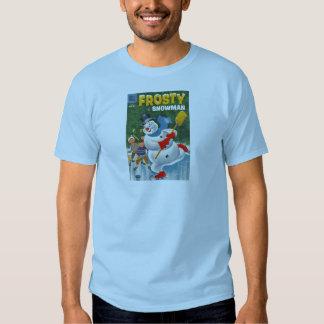 Vintage Frosty on Skates Tee Shirt