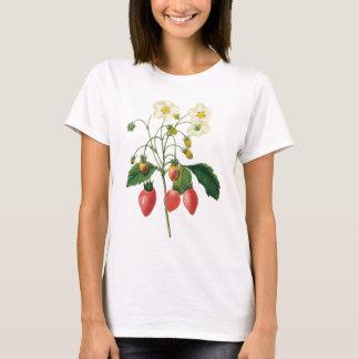 Vintage Fruit Berries Food Strawberries by Redoute T-Shirt