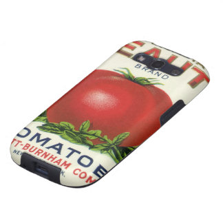 Vintage Fruit Crate Label, Arcadia Beauty Tomatoes Samsung Galaxy SIII Cover