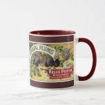 Vintage Fruit Crate Label Art, Imperial Plums Mug