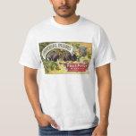 Vintage Fruit Crate Label Art, Imperial Plums T-Shirt