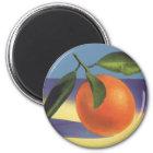 Vintage Fruit Crate Label Art, Juciful Oranges Magnet
