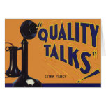 Vintage Fruit Crate Label Art, Old Fashioned Phone