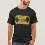 Vintage Fruit Crate Label Art, Seneca Lake Grapes T-Shirt