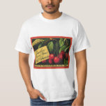 Vintage Fruit Crate Label Art, Thurber Cherries T-Shirt