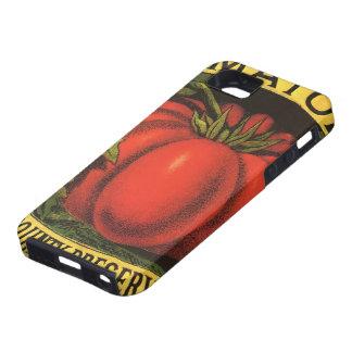 Vintage Fruit Crate Label Art, Wayne Co Tomatoes iPhone SE/5/5s Case