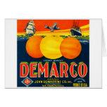Vintage Fruit Crate Label Card