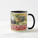 Vintage Fruit Crate Label Mug