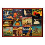 Vintage Fruit Crate Labels Card