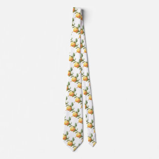 Vintage Fruit Food, Calville Apple by Redoute Neck Tie