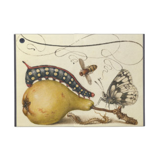 Vintage Fruit Insects Bee Butterfly Caterpillar iPad Mini Cover