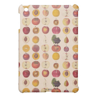 Vintage Fruit Pattern iPad Mini Cover