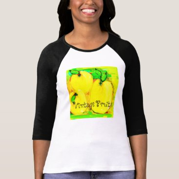 """__apples__boutique_ """"Vintage Fruit"""" Shirt"""