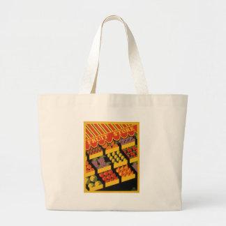 Vintage Fruit Store Bags
