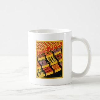 Vintage Fruit Store Coffee Mug