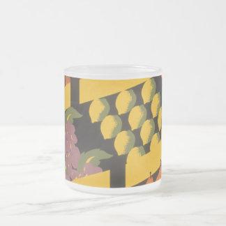 Vintage Fruit Store Coffee Mugs
