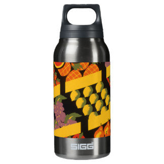 Vintage Fruit Store Insulated Water Bottle