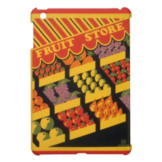 Vintage Fruit Store iPad Mini Covers