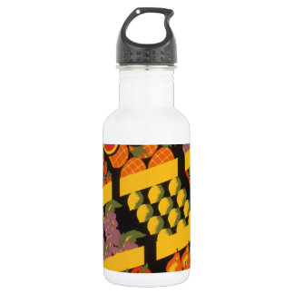 Vintage Fruit Store 18oz Water Bottle