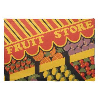 Vintage Fruit Store Placemats