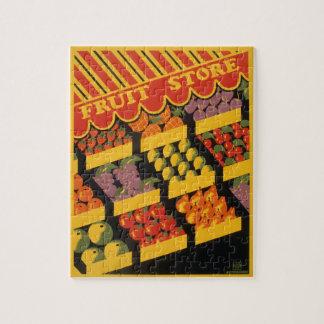 Vintage Fruit Store Puzzles