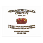 Vintage Fruitcake Company Post Cards