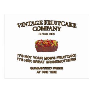 Vintage Fruitcake Company Postcard