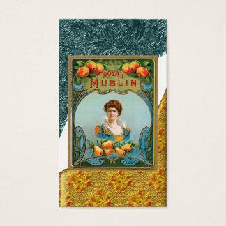 Vintage Fruits Poster Business Card