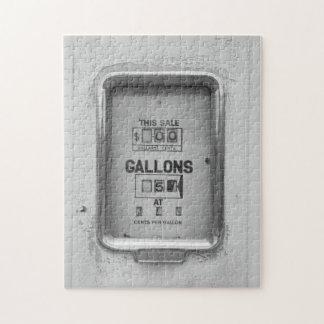 Vintage Fuel Pump / Bowser Dial - Puzzle
