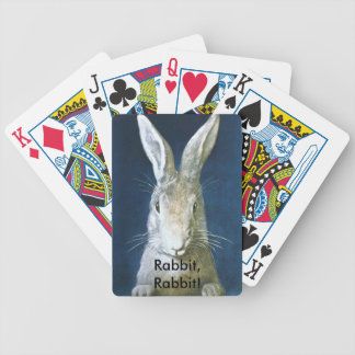 Vintage Fun Rabbit, Rabbit! Lucky Playing Cards