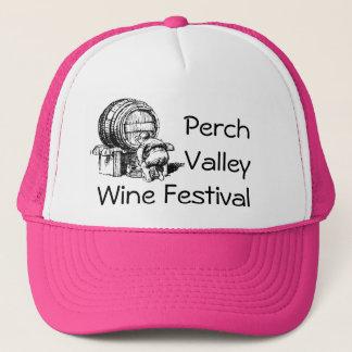 Vintage Fun Wine Festival Barrel Tester Tasting Trucker Hat