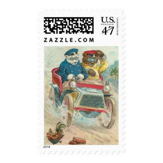 Vintage Funny Bears Postage