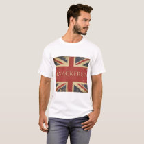 Vintage Funny British Slang Gift - Knackered T-Shirt