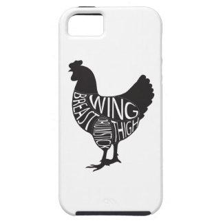 Vintage & Funny Chicken Design iPhone SE/5/5s Case