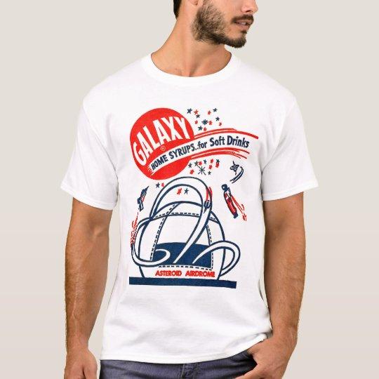 Vintage Galaxy Rockets 50s Soda Pop Syrup T-Shirt