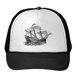 Vintage Galleon Ship Trucker Hat