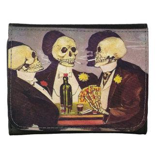 Vintage Gambling Skeletons Wallets