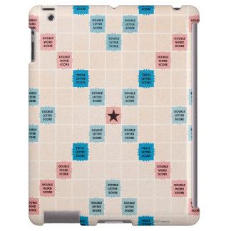 Vintage Gameboard del Scrabble Funda Para iPad