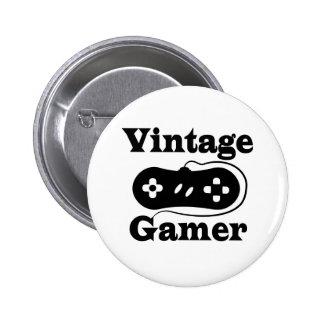 Vintage Gamer Button